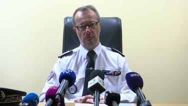 Cédric Esson, directeur départemental de la sécurité publique de la Loire, le 14 mai 2021.