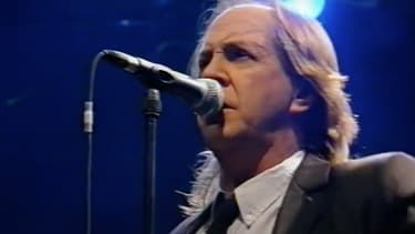 Phil May, chanteur des Pretty Things, en 1998