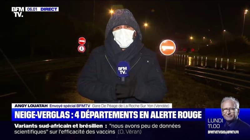 Attention aux pluies verglaçantes dans les départements de la Vendée, des Deux-Sèvres, de l'Indre et de la Vienne