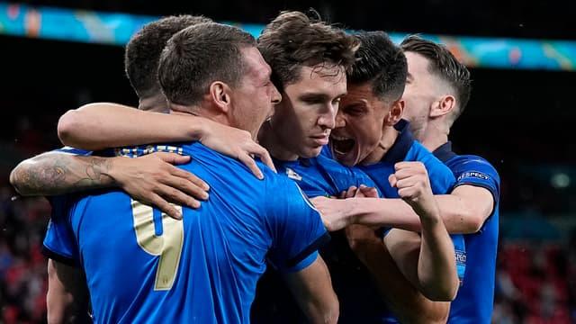 Célébration des Italiens à l'Euro