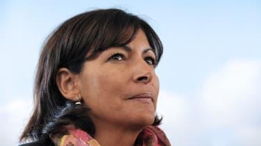 Anne Hidalgo, première adjointe à la Ville de Paris et candidate à la fonction de maire de la capitale en 2014