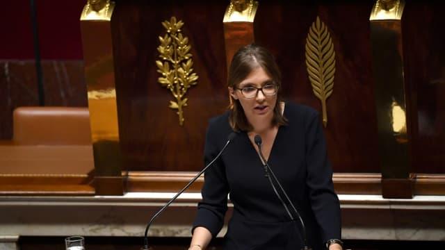 La députée LREM Aurore Bergé le 15 octobre 2019 à l'Assemblée nationale