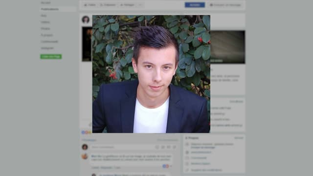 """Sur la page """"Je soutiens Marin"""", le jeune homme ou sa famille racontent son combat pour recouvrir la santé."""