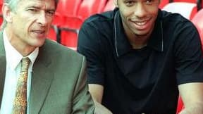 Thierry Henry et Arsène Wenge