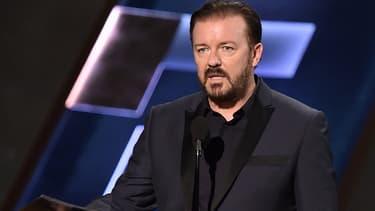 Ricky Gervais lors des Emmy Awards en septembre 2015