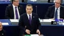 Le Premier ministre hongrois Viktor Orban, très critiqué pour la loi sur les médias adopté en début d'année dans son pays, a défendu ses choix à Strasbourg lors de la présentation au Parlement européen du programme de la présidence hongroise de l'UE. /Pho