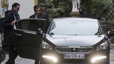 François Fillon, peu avant sa conférence de presse, ce lundi 6 février 2017