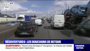 Avec les réouvertures, les embouteillages sont de retour dans les grandes villes