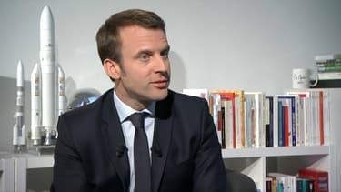 Emmanuel Macron le 9 avril 2017