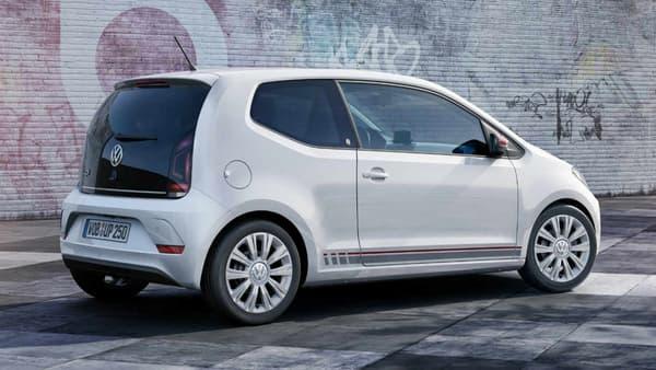Volkswagen offre un turbo à la Up pour le salon de Genève 2016.
