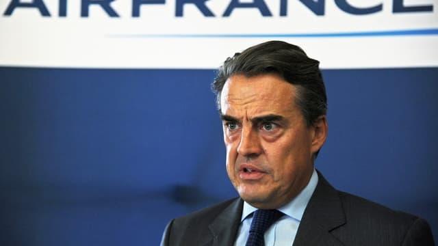 Alexandre de Juniac ne veut pas qu'Air France-KLM se fasse dépasser par EasyJet ou Ryanair.