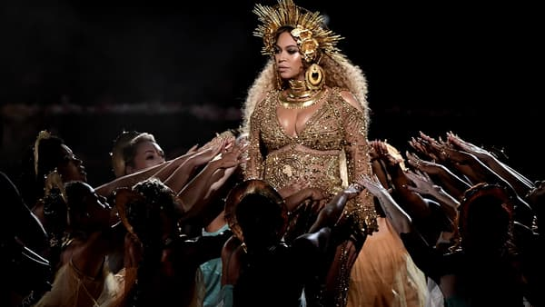 Beyonce lors des Grammy Awards 2017