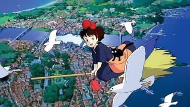 Kiki la petite sorcière de Hayao Miyazaki
