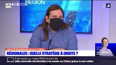 """Régionales: """"cette union de la gauche inquiète potentiellement Xavier Bertrand"""" estime le politologue Tristan Haute"""