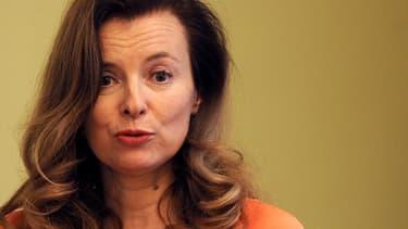 Valérie Trierweiler, ici en Inde le 27 janvier, n'a pas apprécié un récent article du Monde.
