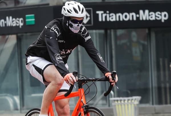 Un cycliste au Brésil