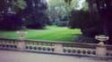 Le jardin de l'hôtel de Matignon.