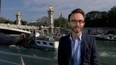 Carnet de voyage: direction les quais de Seine