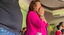 Dolores Aveiro n'a pas caché son émotion lors du premier but de son fils face à Newcastle