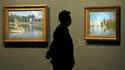 Apporter un regard neuf sur une oeuvre dont la lumière, les couleurs et les motifs sont célèbres dans le monde entier, tel est le défi de la rétrospective Claude Monet qui s'ouvre mercredi à Paris. /Photo prise le 17 septembre 2010/REUTERS/Charles Platiau