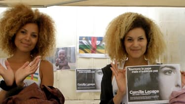 Tiga et Cathie Ducasse, Franco-Centrafricaines, se mobilisent pour leur pays d'origine.