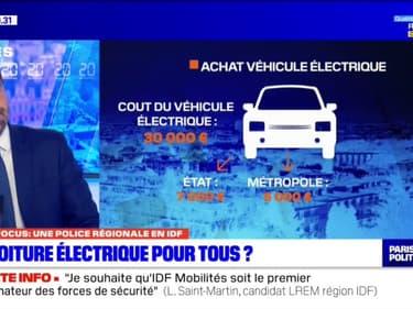 Régionales Ile-de-France: Laurent Saint-Martin, candidat LaREM souhaite aider financièrement les Franciliens à l'achat d'une voiture électrique