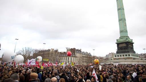 60.000 personnes ont défilé à Paris pour le mariage pour tous.