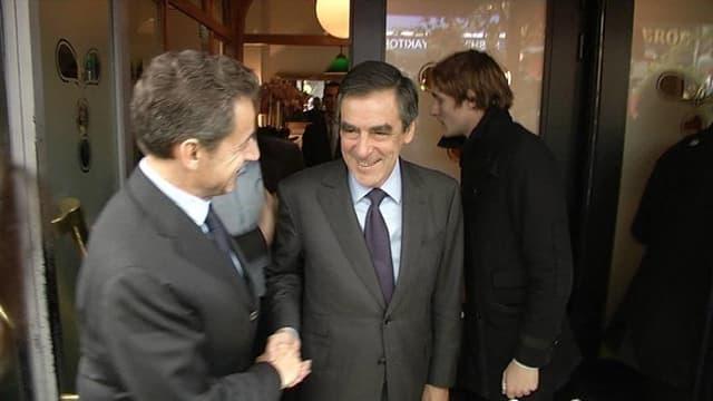 Il ne votera pas, mais Nicolas Sarkozy a donné de sa personne pendant la campagne, recevant Copé, déjeunant avec Fillon.
