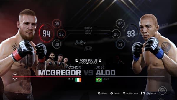 Vous voulez changer le cours de l'histoire en rejouant le choc de l'UFC 194 entre Conor McGregor et José Aldo ? C'est possible