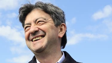 Le co président du Parti de Gauche Jean-Luc Mélenchon