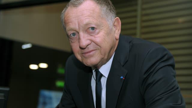 Jean-Michel Aulas, président de l'OL