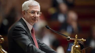 Claude Bartolone à l'Assemblée nationale, le 14 avril 2015.