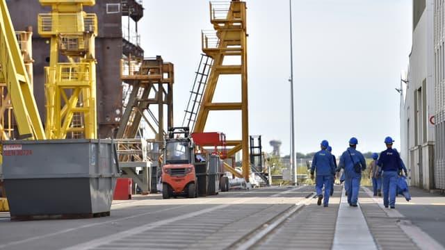 Les chantiers navals STX France font l'objet d'un bras de fer entre les autorités françaises et italiennes.