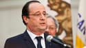 François Hollande lors de sa visite à San Francisco, aux Etats-Unis, le 12 février.