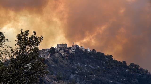 Incendie à Tizi Ouzou.