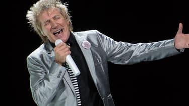 Rod Stewart sur scène en décembre 2013