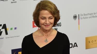Charlotte Rampling à la cérémonie des European Film Awards à Berlin en décembre 2015