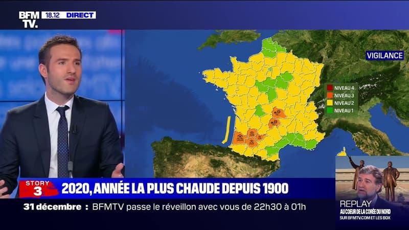 2020 est l'année la plus chaude depuis 1900 d'après Météo France