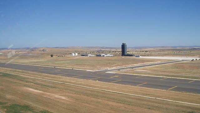 L'aéroport international de Ciudad Real en Espagne