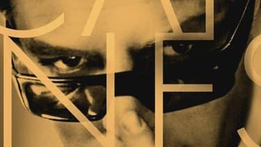 """L'affiche du 67e Festival de Cannes est tirée d'un photogramme de Marcello Mastroianni dans """"Huit et demi"""", de Federico Fellini."""