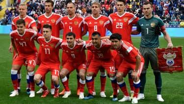 La Russie à la Coupe du Monde 2018