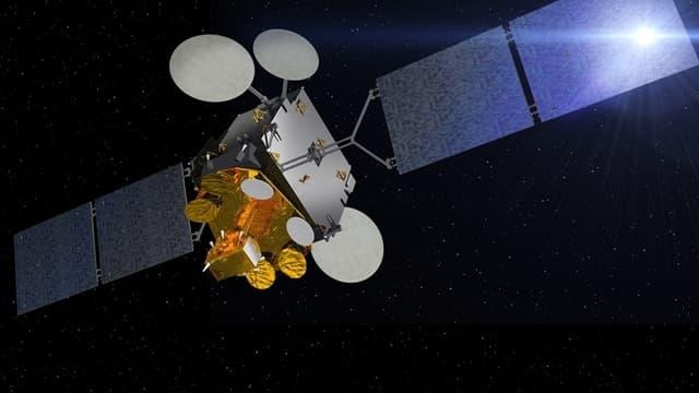 Athena-Fidus est un satellite civilo-militaire développé par la France et l'Italie