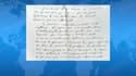 Un passage de la lettre-testament du juge Jean-Michel Lambert.
