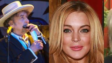 Bob Dylan, Lindsay Lohan, Renaud et Kim Kardashian, au coeur de l'actualité people de la semaine -