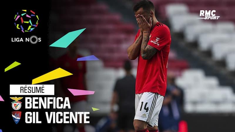 Résumé : Benfica 1-2 Gil Vicente - Liga portugaise (J27)