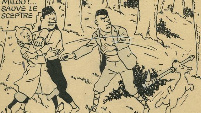 Le Sceptre d'Ottokar de Hergé
