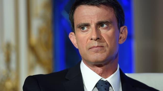 Manuel Valls, le 9 mai 2016 à Paris.