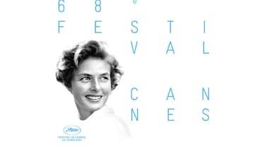 Ingrid Bergman, qui figure sur l'affiche de la 68e édition du Festival de Cannes avait présidé son jury en 1973.