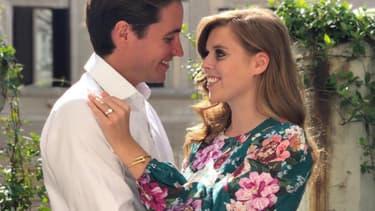 La princesse Béatrice et son fiancé