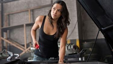 "Michelle Rodriguez dans la saga ""Fast and Furious"""